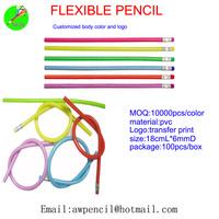 Customized 30cm soft pencils Min order 10000pcs