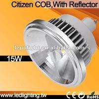 Led lights AR111 GU10 15W  CRI 92 Citizen LED 2700K/3000K/4000K/5000K spotlights