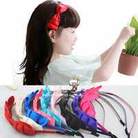 Accessories child hair bands hair accessory hair accessory bow ribbon headband multicolor