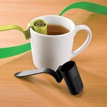 Useful Homeware Plastic Spoon Tea Strainer Infuser Teaspoon Filter#45163