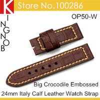 Ремешок для часов Croco 24 band 24 Panerai PAM OP94-W