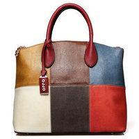 2014 New Fashion OPPO Brand Women Handbag Cowhide Genuine Leather Luxury Bag Woman Shoulder Retro Messenger Bag