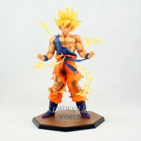 Dragon Ball Z Super Saiyan Goku PVC Action Figure Toy 17CM