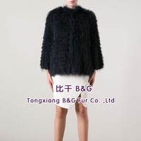 BG20058 Genuine Raccoon Dog Fur Jackets Wholesale Retail OEM Natural Fur Jackts 2014 New Ladies Garment Natural Fur Jackets