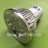 LED plants growing GU10/gu5.3/mr16/e14 8w , 85-265v/AC LED Grow Lamps green,red,yellow,blue or rgb ce&rohs