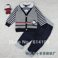 Free shipping 2014 spring models factory direct wholesale Korean foreign trade children suit