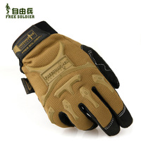 Freedom soldiers riding gloves outdoor military equipment, tactical racing fans full finger gloves Commando 3 Phoenix