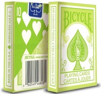 Playing Cards Bicycle Pastel Green Poker Best Magic Tools Magician Cards