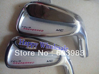 1 set MC Tour Preferred (3-9,P) Golf Irons Regular or Stiff Flex  Steel Shafts Golf Clubs Free Shipping