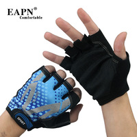 EAPN thin non-slip gloves, riding mitts Korean men outdoor sports bike sun Fitness half-finger gloves