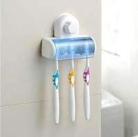 Toothbrush Holder Suction Stand Rack Bathroom Accessory Wall Mount Holder 95231
