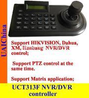 Joystick PTZ controller, keyboard, keypad.     Support  HIKVISION,Dahua, XM DVR and NVR control