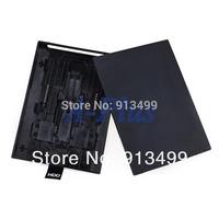 10pcs/lot New HDD Case Hard Drive External Enclosure Box Shell Cover for Microsoft Xbox 360 Slim Black Wholesale 19460 3F
