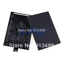 10pcs/lot New HDD Case Hard Drive External Enclosure Box Shell Cover for Microsoft Xbox 360 Slim Black Wholesale 19460 3F(China (Mainland))