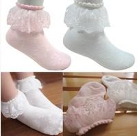 free shipping 5pair/lot lace girl's socks princess socks kids ankle socks good quality children's socks for summer spring autumn