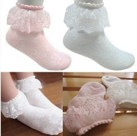 free shipping 5pair/lot lace girl's socks princess socks kids ankle socks good quality children's socks for summer spring autumn