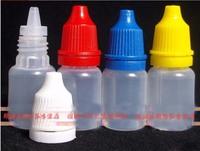 Wholesale 200pcs/LOT 5ml PE tamper evident caps drop bottle free shipping , drop bottle plastic bottle