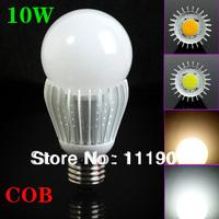 E27 COB 10W Support Dimmer Cool White/Warm White 900LM Super Brightness LED Bulb Lamp Epistar Chip