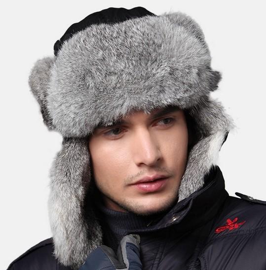Fur Hats From Russia Fur Hat Men Lei Feng Hat