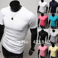 Mens Designer Quick Drying Casual T-Shirts Tee Shirt Slim Fit Tops New Sport Shirt  M L XL XXL