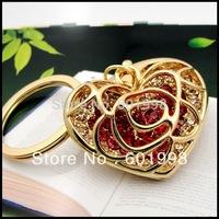 2014 Unique Fashion Heart-shaped Keychain HOT