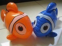 Free shipping (20pieces/lot) inflatable toy kids toys online shopping educational toys for kids inflatable fish