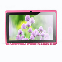 Wholesale pink Tablet pc  7inch capacitive Touch Screen