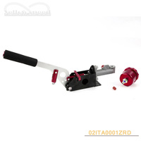 Hydraulic Drift E-Brake Racing Handbrake Vertical Horizontal + OIL TANK RED