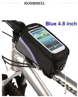 New Generation 4.8inch Bike Bicycle front tube bag for touch screen cell phone GPS
