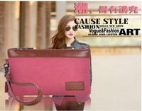 2014 women's handbag day clutch women's wallet Canvas Clutch