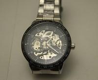 freeshipping 10pcs/lot  hot sales winner mechanical Automatic watch,alloy metal band,automatic mechanical movement,New design