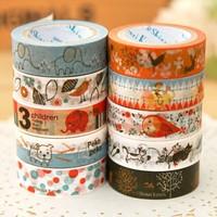 Blue Bai Stationery--Hot sale Japan kato hand-drawn series DIY Adhesive Tape 360