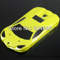 G4-056 Yellow sport car model hard case stand case for Samsung Galaxy S4 i9500 i9505 Bull Lanborghini need for speed most wanted
