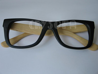 Free Shipping Full handmade bamboo trend spectacle frame all bamboo sunglasses