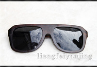 The trend of the bamboo sun glasses all wood wool sunglasses plain handmade glasses vintage