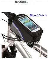 New Generation 5.5inch Bike Bicycle front tube bag for touch screen cell phone GPS