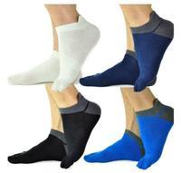 2014 New Fashion Men Women Sport Mesh Thin Toe Socks Five Fingers Cotton Socks breathable running football socks 3pair/lot 00126