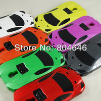 Lot 0f 5 sport car model hard case for Samsung Galaxy S4 i9500 i9505 Bull Lanborghini Need for speed Most wanted 7color