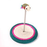 Free Shipping! Sobot sisal spring round cat scratch board cat toy cat toy cat scratch board y bj