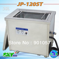 Free shipping! Factory direct 38L ultrasonic cleaner JP-120ST 240-600W power adjustable with sus basket