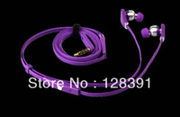 2014 New Arrival Justin Bieber In-ear Headphones Earbud, Free shipping Noise Cancelling Ear Buds
