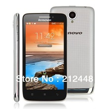 "Case&film free! Lenovo S650 silver /white, MTK6582 quad core 1.3ghz,4.7"" IPS screen,960*540,1GB RAM 8G ROM,Dual SIM,android4.42(China (Mainland))"