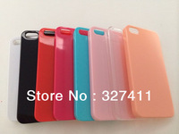 2014 new arrival 0.8mm ultrathin PC clear case transparent hard Case For iPhone 4 4S 5 5C 5S 1000pcs/lot Free Shipping