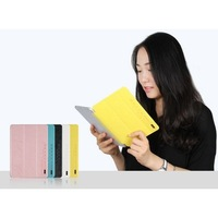USAMS Jane Series for iPad Air 5 Tri-fold Stand Smart Leather Skin Shell for iPad Air (5 Colors for Choosing)