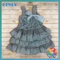 2014 New Arrivel Lovely Baby Lace Satin Spaghetti Strap Princess Dresses 24pcs/lot dhl fress