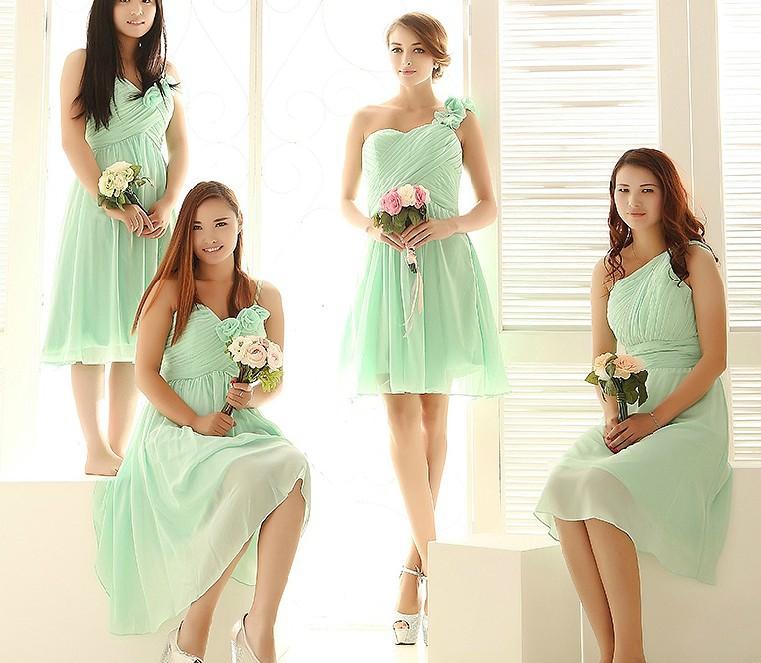 Similiar Light Green Bridesmaid Dresses Keywords