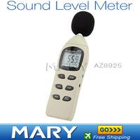 Freeshipping AZ8925 digital sound level meter digital noise meter precision digital decibel meter 40-130dB / 45-130dB