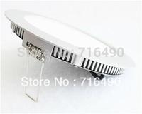 20pcs/lot Super Slim Ultra Slim LED Panel Light Side Light SMD 2835 12W Two Years Warranty Dia170mm 6 inch
