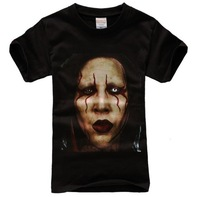Custom HOT SELLING Very Rare Marilyn Manson Face Gothic Rock T-shirt Plus Euro Size O-Neck diy shirts,prints design shirts