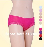 Wholesale Women's Modal Panties Sexy Lace Underwear Soft And Comfortable Underpants Ladies Summer Briefs